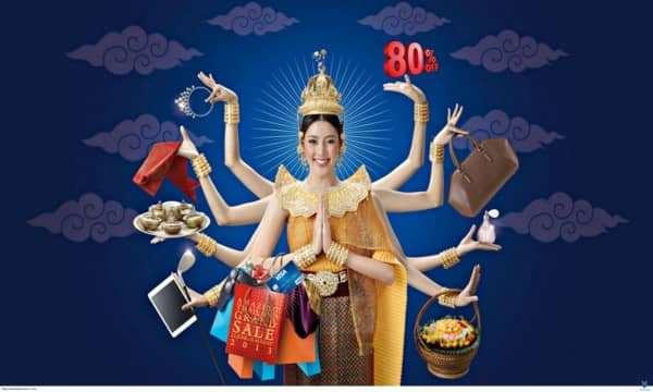 Những địa điểm mua sắm không thể bỏ lỡ khi du lịch Thái Lan.