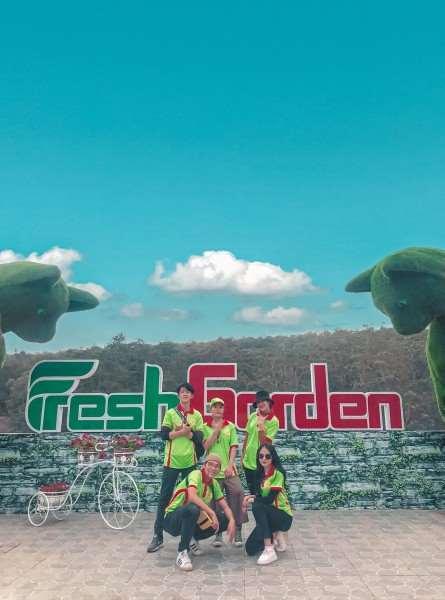 Fresh Garden mang diện mạo mới thu hút dân tình ghé thăm