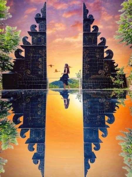 Cổng trời Bali lần đầu tiên xuất hiện ở Đà Lạt