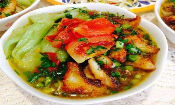 Canh bánh đa cá rô đồng – Nét đẹp văn hóa trong ẩm thực Việt