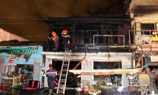 Người đàn ông kẹt trong căn nhà bị cháy ở Đà Lạt đã tử vong.