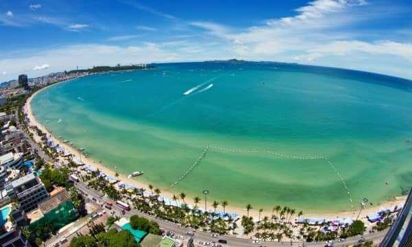 Trải nghiệm bờ biển Jomtien - thiên đường của Pattaya.