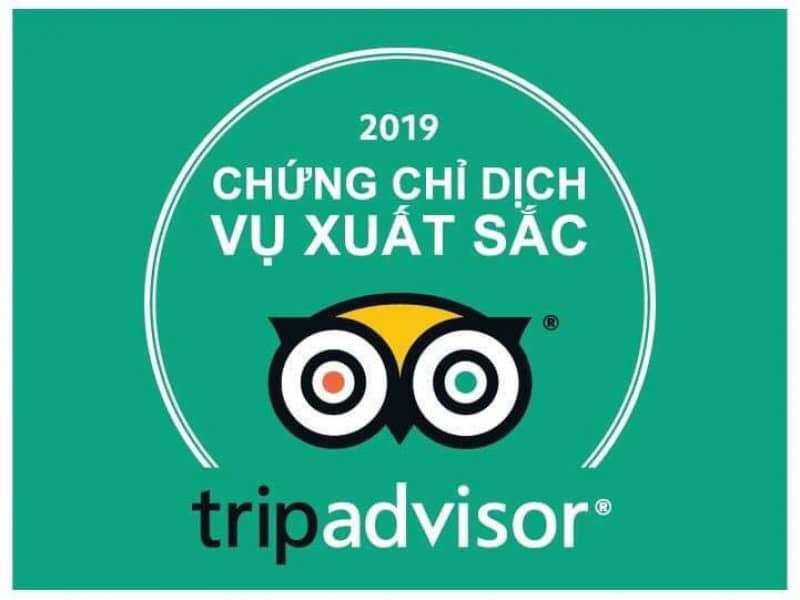 Thử Thách Việt đạt giải thưởng Dịch vụ xuất sắc TripAdvisor