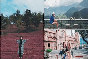 4 Địa điểm gây sốt ở Việt Nam được khách nước ngoài check in