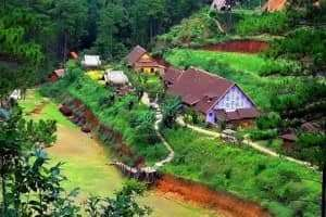 Vê thăm xã Lát Lạc Dương - vùng quê yên bình