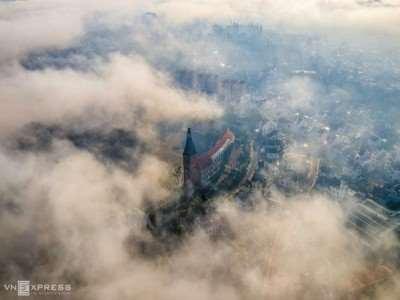 Đà Lạt tháng 5, sương giăng trên phố núi