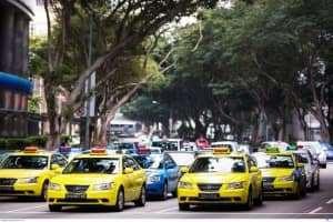 Điều du khách không bao giờ nên làm khi đi taxi ở Singapore