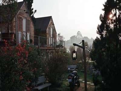IN THE PINES-Khu vườn Châu Âu tưởng lạ mà quen ở Đà Lạt