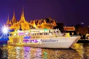 TRẢI NGHIỆM DU THUYỀN HOT NHẤT TRÊN SÔNG CHAO PHRAYA BANGKOK