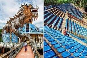 Giới trẻ đổ xô check in công viên đẹp rùng rợn nhất Việt Nam