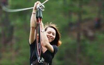 High Rope Course - Hành trình trên cao