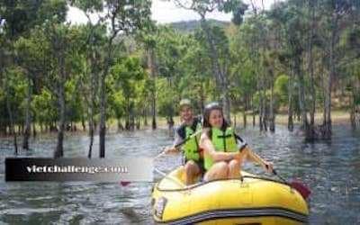 Trekking và chèo thuyền kayak tại Đà Lạt