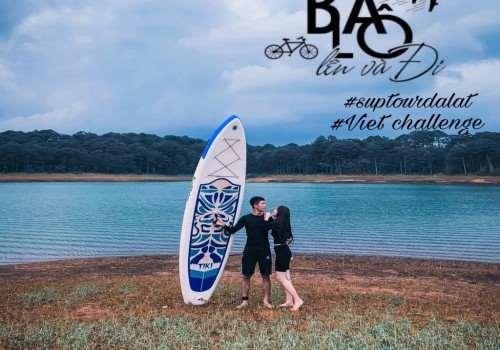 Tour trekking - Chèo thuyền kayak - Cắm Trại hồ Tuyền Lâm