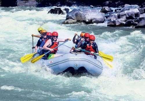 Dalat White Water rafting