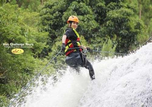 Vượt thác Đà lạt - Dalat Canyoning Challenge
