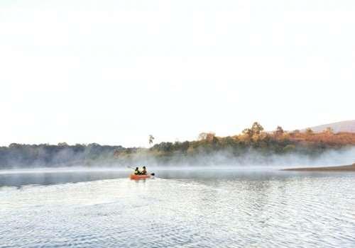 Chèo KAYAK/SUP ngắm bình minh, sương khói Đà Lạt
